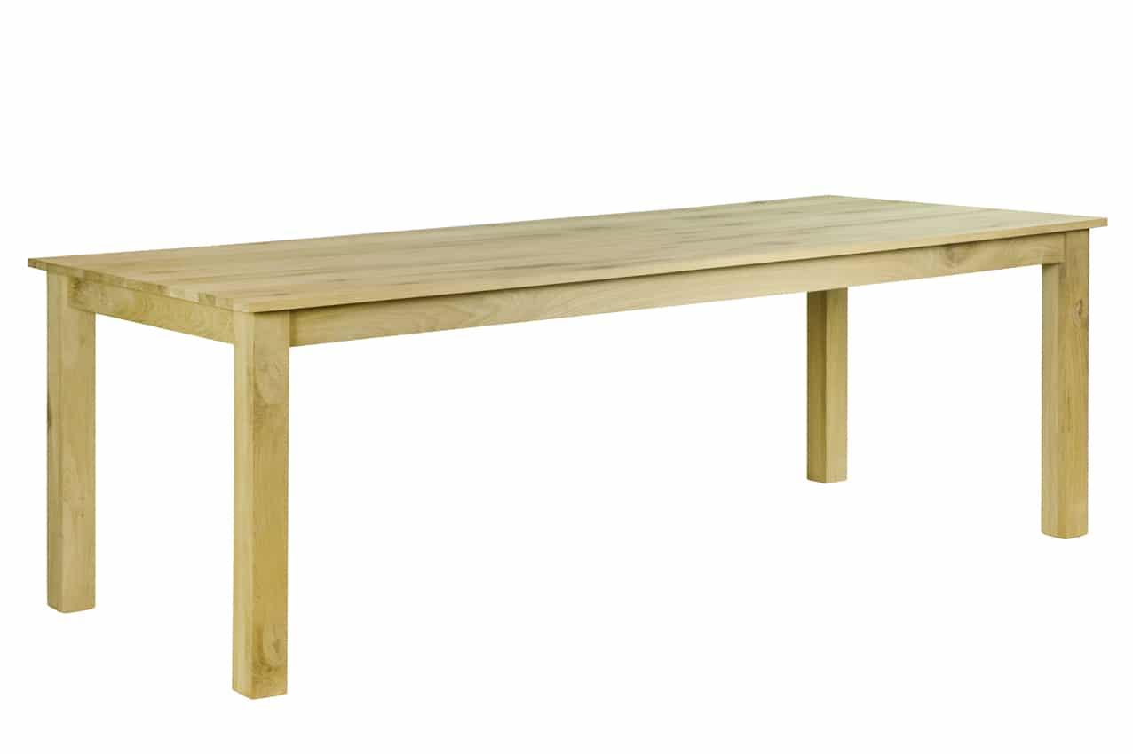 Eiken tafel willemstad for Eiken tafel