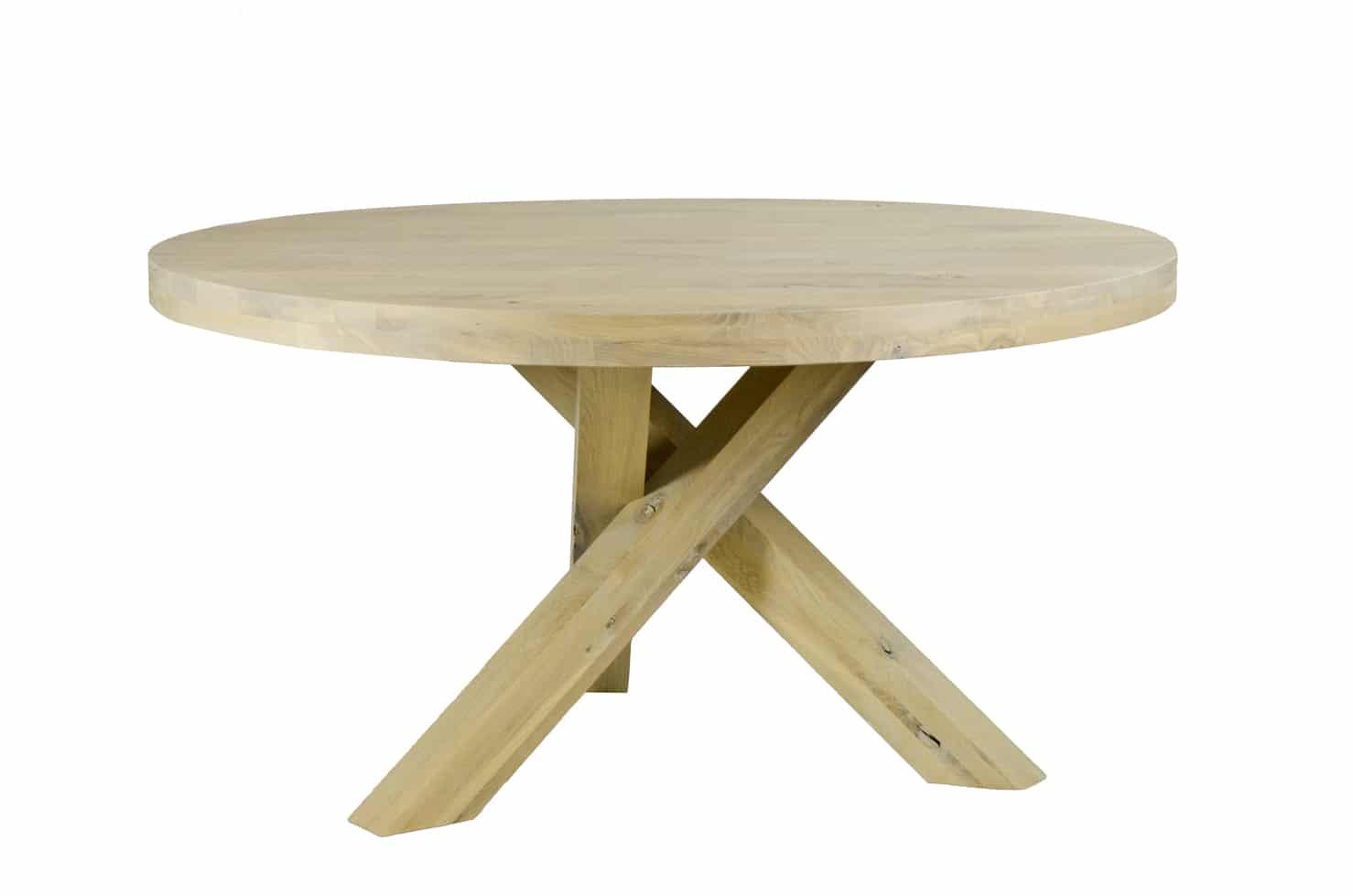Eiken tafel napels eikentafels