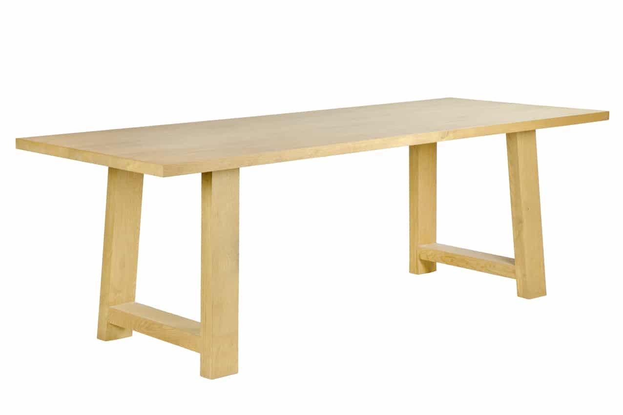 Eiken tafel warschau for Eiken tafel